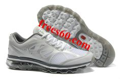 frees60.com for half off nike shoes $62.87 , Mens Nike Air Max 2012 White Dark Grey Shoes