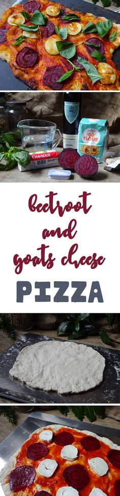 Home-made beetroot and goats cheese pizza | H is for Home