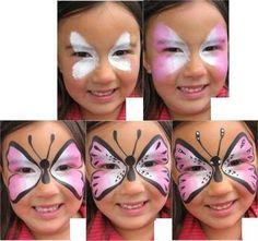 Resultado de imagem para pinturas faciais simples passo a passo