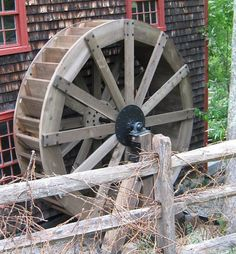 Water wheel electricity basics
