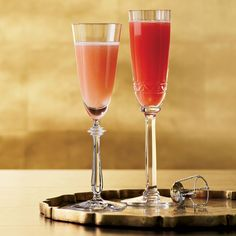 Blood Peach Bellini from Food and Wine Magazine looks like just the thing for Halloween or anytime really.