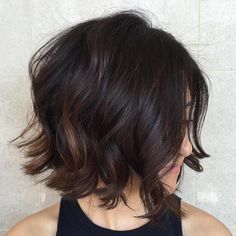 Bob hairstyles are really trendy and popular nowadays. So here are the best images of the Most Beloved Brunette Bob Hairstyles for Ladies, check our gallery that we have compiled for you! Bob Hairstyles For Thick, Bob Haircuts For Women, Layered Bob Hairstyles, Hairstyles Haircuts, Brunette Hairstyles, Beautiful Hairstyles, Medium Hairstyles, Men's Hairstyle, Popular Haircuts
