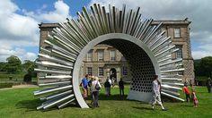 aeolus wind sculpture