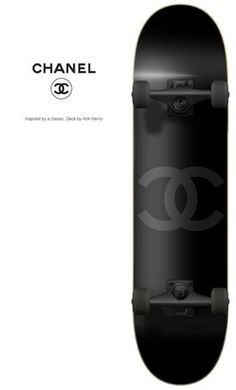 Products / CHANEL #Skateboard ... collector's item...