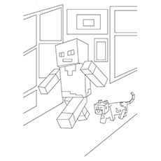 c8f60d6e7821ac2a7716d4711c2e179c minecraft characters coloring pages