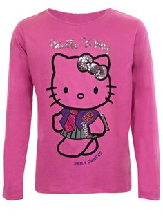GIRLS KIDS HELLO KITTY LONG SLEEVED T SHIRT TOP SIZE 2-8 YEARS OLD TOPS   £2.99 Postage:  £8.00 8 Year Olds, Your Girl, Graphic Sweatshirt, T Shirt, Hello Kitty, Size 2, Lily, Paris, Sweatshirts