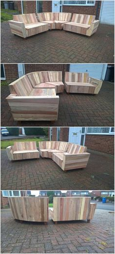 This is yet another one of the best ideas of using the wood pallet into some useful concepts. In this wood pallet idea you will search out the attractive styling of the couch. You can use this couch in any portion of the house no matter whether it is indoor or outdoor.