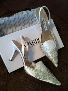 CAPARROS VANITY WEDDING SHOES