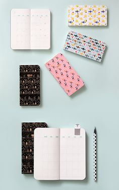 YAY! Enjoy your organized & planned life with these eye-catching schedulers! ​