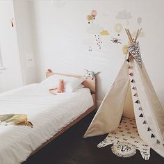 Tipi indio Zirimola Blog #kidsdeco #decoracioninfantil