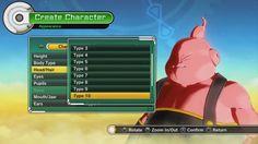 Dragon Ball Xenoverse: Majin Create A Character (Custom Majin Male)