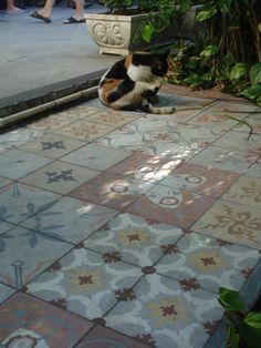 Hemingway outdoor tiles