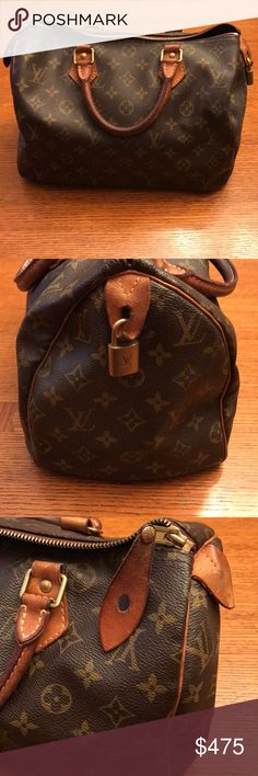 Authentic Louis Vuitton Speedy 🔥 Great, vintage Louis Vuitton Speedy Bag. Perfect condition on the outside. Minor wear on the inside as seen in pictures. Flexible on price. Louis Vuitton Bags