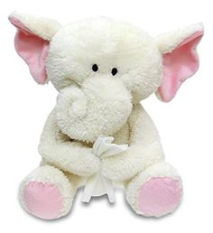 Cuddle Barn Get Well Collection Animated Plush Toy Elephant  Sophie Sniffles CB9325 * Click on the image for additional details.Note:It is affiliate link to Amazon.