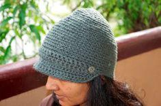 Woolen crocheted caps