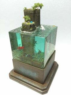 【告知】いろいろと水没ジオラマ制作手順 - きながに・・・MASAKI's模型