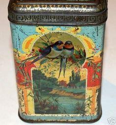 Vintage British biscuit tin