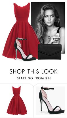 """""""1#"""" by tea-love ❤ liked on Polyvore featuring Boohoo and LULUS"""