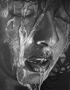 drenched by paul shanghai - Pencil Drawings by Paul