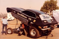 Pinto Funny Car. Mine was fun but probably not as fast!