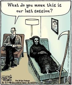 Hilarious Bizarro Comics Are Proof That Humor Is The Best Therapy Cartoon Jokes, Funny Cartoons, Funny Comics, Funny Jokes, Hilarious, Bizarro Comic, Psychology Jokes, Therapy Humor, Halloween Jokes