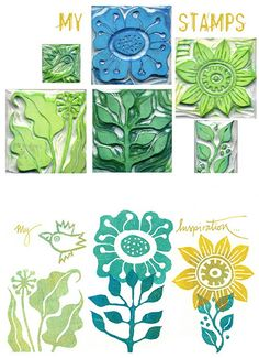 Totally love this idea! I could use these for the canvas, wood, glass, anything! Trip to Hobby Lobby coming up!