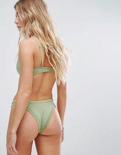 Rhythm Sunchaser Itsy Bikini Bottom - Green