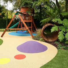 Childrens Play Area Garden Design