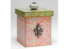 Mod Podge Monday: Beautiful Pearlescent Box