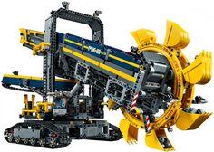 LEGO Technic Emmerwiel Graafmachine 42055 - De leukste LEGO bestel je online op https://www.olgo.nl