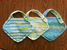 Grandmother's Favorite Baby Bib,  free pattern by Merin Collins -on Ravelry