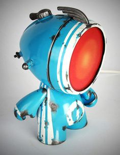 """A awesome set of lights at the intersection between lighting and art toys inspired by the world of street art. The """"Urban Lights"""" are creations of the French ar"""