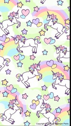 Cute Fairy Tale Unicorn Fabric Purple Michael Miller Usa
