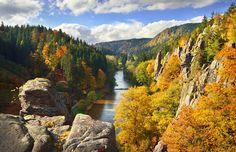 Svatošské skály, národní přírodní památka | Slavkovský les