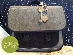 Day 16 – Back to school for Zoé ! Back To School, Suitcase, Chic, Day, Atelier, Satchel, Couture Sac, Pouch Bag, Shabby Chic