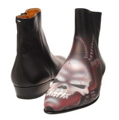 In Honor Of Halloween, Some Spooky Skull Shoes & Boots From Martin Margiela