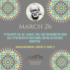 Please share: By Baba's grace, Team I Love Sai has introduced this Baba's calendar. The message in this is directly from Shri Sai Satcharitra. We urge you to please share this and spread Baba's message. Thank you in advance. Sai Baba Pictures, Sathya Sai Baba, Om Sai Ram, Spiritual Life, Lord Shiva, Messages, My Love, Words, Ganesha