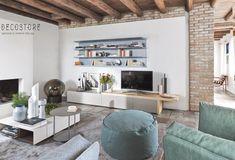 Decostore by Zorzos Co Santorini, Tv Unit Design, Decoration, Office Desk, Dining Bench, Corner Desk, Designer, Table, Modern Design