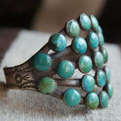 Turquoise Turquoise Ingot Bracelet