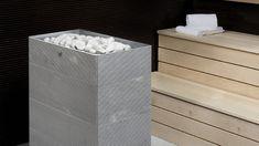 Vuolukivipintainen Tuisku XL -kiuas antaa todella muhkeat ja nautinnollisen kosteat löylyt isommassakin saunatilassa.