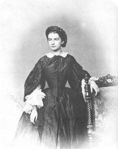 Herzogin Marie Sophie in Bayern im Jahr ihrer Vermählung mit Kronprinz Franz beider Sizilien 1859