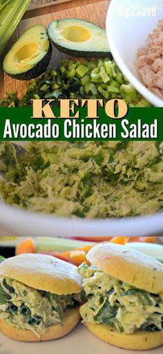 Keto Avocado Chicken Salad!!! - Low Recipe