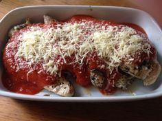 How to Make Chicken Parmesan (21 Day Fix) Recipe