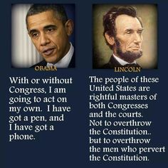 I believe the one on the left is trying to dictate. And if congress allows it then we need to restaff Congressm