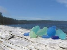 Grand Turk is a good place to find beach glass....
