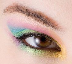 BFTE Soft Rainbow Princess Celestia http://www.makeupbee.com/look.php?look_id=72291