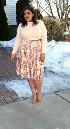 Plus size blogger spotlight, Allison from Inside Allie's World on TheCurvyFashionista.com #TCFStyle