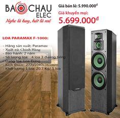 Loa đứng Paramax F-1000 sử dụng cho chất lượng âm thanh cực tốt với dàn karaoke. Mua ngay Loa đứng Paramax F-1000 với giá tốt nhất tại Bảo Châu audio