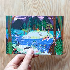 ⭐️⭐️⭐️⭐️⭐️ 5 star review: Absolutely Beautiful Colourful, creative, simply gorgeous. And came so beautifully packaged. Would absolutely order more:) Road Trip in BC along the sunshine coast. Travel then take a kayak trip from lund BC canada