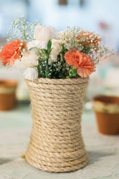 Peach & Mint Baby Shower Party Ideas | Photo 3 of 11